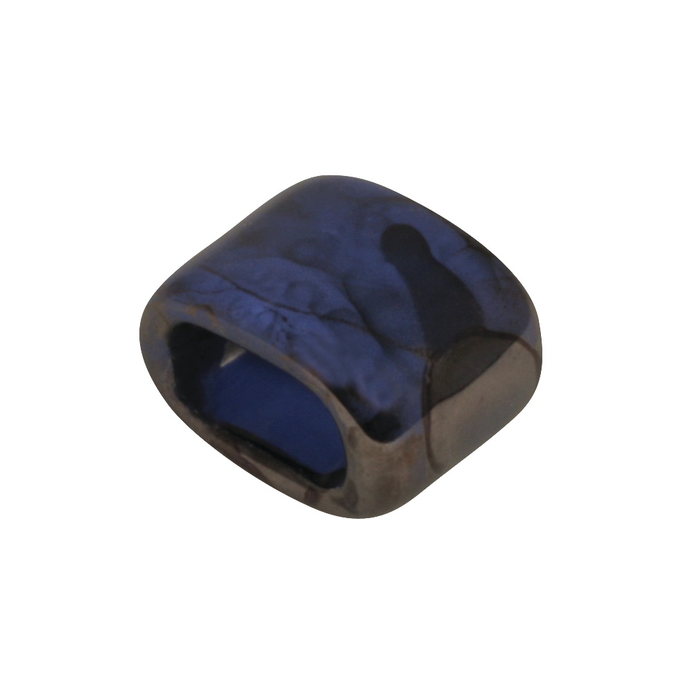 Keramik- Zierelement: Oval